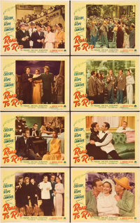 "Road to Rio/Road to Bali (Paramount, 1948 and 1952). Lobby Card Sets (2) (11"" X 14""). ... (Total: 16 Items)"