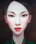 Post-War & Contemporary:Contemporary, ZHANG XIANGMING (Chinese, b. 1975). Beijing Girl Series No.8, 2011. Oil on canvas. 79 x 60 inches (200.7 x 152.4 cm). S...