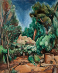 Impressionism & Modernism:post-Impressionism, ACHILLE EMILE OTHON FRIESZ (French, 1879-1949). Paysage au Puits. Oil on canvas. 32 x 25-3/4 inches (81.3 x 65.4 cm). Si...