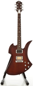 Musical Instruments:Electric Guitars, B. C. Rich Mockingbird Mahogany Solid Body Electric Guitar, Serial#86190....