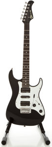 Musical Instruments:Electric Guitars, Charvel CSM-1G Black Solid Body Electric Guitar, Serial #008825....