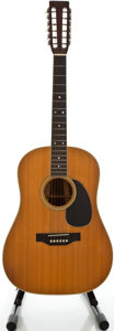 Musical Instruments:Acoustic Guitars, 1971 Martin D-12-35 Natural 12 String Acoustic Guitar, Serial#272938....