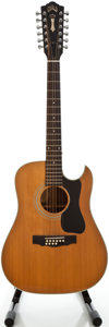 Musical Instruments:Acoustic Guitars, Guild D-35NT Natural 12 String Acoustic Guitar, Serial #187781....