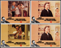 """One Flew Over the Cuckoo's Nest (United Artists, 1975). Lobby Cards (4) (11"""" X 14""""). Academy Award Winners..."""