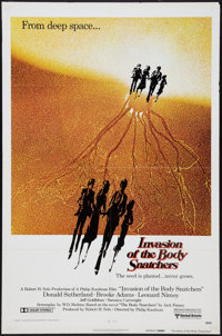 "Invasion of the Body Snatchers (United Artists, 1978). One Sheet (27"" X 41"") Advance, and Lobby Card (11""..."