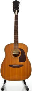 Musical Instruments:Acoustic Guitars, 1970's Harmony Natural Acoustic Guitar...
