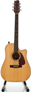 Musical Instruments:Acoustic Guitars, Fender F-230CE Natural Acoustic Electric Guitar, Serial #00754753....