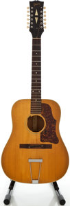 Musical Instruments:Acoustic Guitars, 1967 Gibson B45-12 Natural 12 String Acoustic Guitar, Serial#600133....