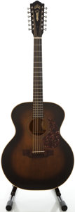 Musical Instruments:Acoustic Guitars, 1970 Guild F212 XL Refinished 12 String Acoustic Guitar, Serial #63052....