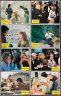 """Movie Posters:Comedy, Shampoo (Columbia, 1975). Lobby Card Set of 8 (11"""" X 14""""). Comedy.. ... (Total: 8 Items)"""