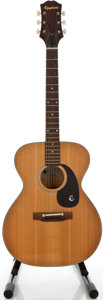 Musical Instruments:Acoustic Guitars, 1970's Epiphone FT-120 Natural Acoustic Guitar, Serial #1051965....
