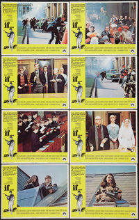 """If... (Paramount, 1969). Lobby Card Set of 8 (11"""" X 14""""). Drama. ... (Total: 8 Items)"""