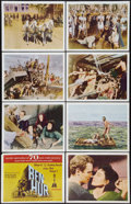 "Movie Posters:Academy Award Winners, Ben-Hur (MGM, 1960). International Lobby Card Set of 8 (11"" X 14"").Academy Award Winners.. ... (Total: 8 Items)"