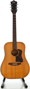 Musical Instruments:Acoustic Guitars, 1969 Guild D35 Natural Acoustic Guitar, Serial #0J-1265....
