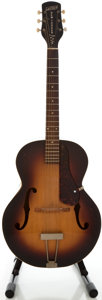 Musical Instruments:Acoustic Guitars, 1953 Gretsch New Yorker Sunburst Archtop Acoustic Guitar, Serial#6303....