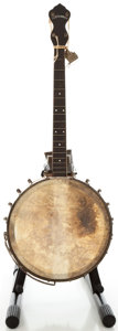 Musical Instruments:Banjos, Mandolins, & Ukes, S. S. Stewart Champion Model Tenor Banjo, Serial #231....