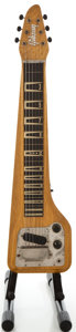 Musical Instruments:Lap Steel Guitars, 1960 Gibson Skylark Korina Lap Steel Guitar, Serial #J 0323....