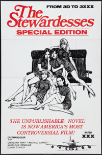 """The Stewardesses & Other Lot (Sherpix, 1969). One Sheets (2) (27"""" X 41""""). Adult. ... (Total: 2 Items)"""