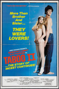 """Movie Posters:Adult, Taboo II & Other Lot (Ad Art Agency, 1982). One Sheet (25"""" X 38"""") & Video Poster (24"""" X 36.5""""). Adult.. ... (Total: 2 Items)"""