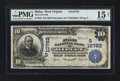 National Bank Notes:West Virginia, Ripley, WV - $10 1902 Plain Back Fr. 632 The First NB Ch. #(S)10762. ...