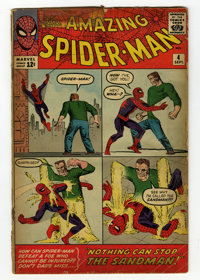The Amazing Spider-Man #4 (Marvel, 1963) Condition: Apparent GD