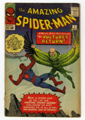 Silver Age (1956-1969):Superhero, The Amazing Spider-Man #7 (Marvel, 1963) Condition: VG....