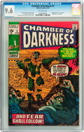 Bronze Age (1970-1979):Horror, Chamber of Darkness #5 (Marvel, 1970) CGC NM+ 9.6 Off-whitepages....