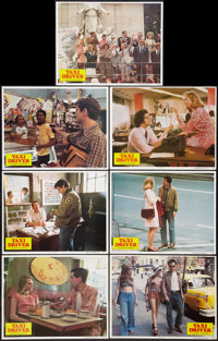 """Taxi Driver (Columbia, 1976). Lobby Cards (7) (11"""" X 14""""). Crime. ... (Total: 7 Items)"""