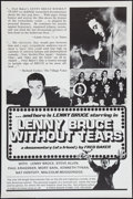 "Movie Posters:Documentary, Lenny Bruce Without Tears (Fred Baker Films, 1972). One Sheet (27"" X 41""). Documentary.. ..."
