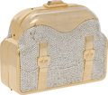 Luxury Accessories:Bags, Judith Leiber Gold, Bead, and Cabochon Clasp Evening Bag. ...