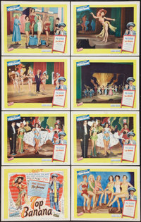 """Top Banana (United Artists, 1954). Lobby Card Set of 8 (11"""" X 14""""). Comedy. ... (Total: 8 Items)"""