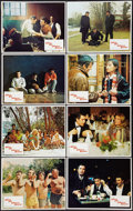 """Movie Posters:Drama, Husbands (Columbia, 1970). Lobby Card Set of 8 (11"""" X 14""""). Drama.. ... (Total: 8 Items)"""