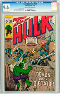 Bronze Age (1970-1979):Superhero, The Incredible Hulk #133 (Marvel, 1970) CGC NM+ 9.6 Cream to off-white pages....