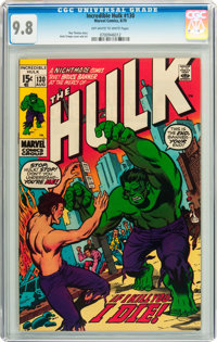 The Incredible Hulk #130 (Marvel, 1970) CGC NM/MT 9.8 Off-white pages