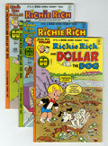 Bronze Age (1970-1979):Cartoon Character, Richie Rich and Dollar the Dog File Copy Group (Harvey, 1977-82)Condition: Average NM-.... (Total: 54 Comic Books)