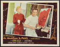 "An American in Paris (MGM, 1951). Lobby Card (11"" X 14""). Musical"