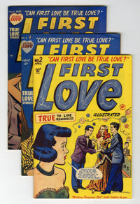 First Love Illustrated File Copy Group (Harvey, 1949-63) Condition: Average VF.... (Total: 79 Comic Books)