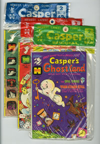 Harvey-Pax Casper Comics File Copy Group (Harvey, 1970s) Condition: Average NM-.... (Total: 11 Items)