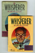 Pulps:Detective, The Whisperer Group (Street & Smith, 1940) Condition: AverageFN-.... (Total: 2 )