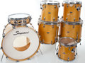Musical Instruments:Drums & Percussion, 1960's Slingerland Maple 7-Piece Drum Set, Serial #487215.... (Total: 9 Items)
