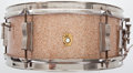 Musical Instruments:Drums & Percussion, Circa 1960's Ludwig Snare Champagne Sparkle, Serial #118418....