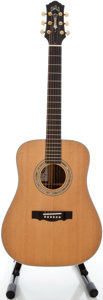 Musical Instruments:Acoustic Guitars, Recent Guild DV-52 Custom Natural Acoustic Guitar, Serial #11930062....