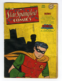 Star Spangled Comics #65 (DC, 1947) Condition: FR