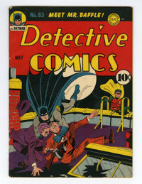 Detective Comics #63 (DC, 1942) Condition: VF-
