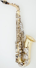 Musical Instruments:Horns & Wind Instruments, Yamaha YAS-23 Brass Alto Saxophone, Serial #111380....