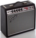 Musical Instruments:Amplifiers, PA, & Effects, Circa 1969 Fender Bronco Silverface Guitar Amplifier, Serial#A24208....