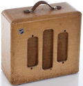 Musical Instruments:Amplifiers, PA, & Effects, 1940's National Acoustic Tweed Guitar Amplifier...