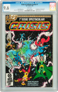 Modern Age (1980-Present):Superhero, Crisis on Infinite Earths #1 (DC, 1985) CGC NM+ 9.6 White pages....
