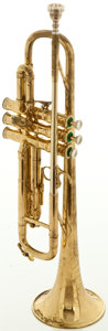Musical Instruments:Horns & Wind Instruments, Circa early 1960's Selmer K-Modified Brass Trumpet, Serial #24981....