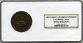 Expositions and Fairs, 1893 World's Columbian Exposition Bronze Medal, MS66 Brown Prooflike NGC. E-55, 50 mm....